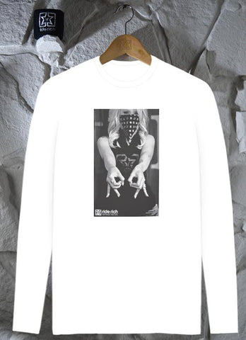 Ode To RR L/S Tee {White}