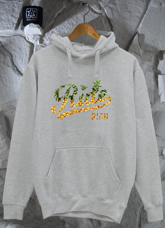 Pineapple Squad Pullover Hoodie {Heather Grey}