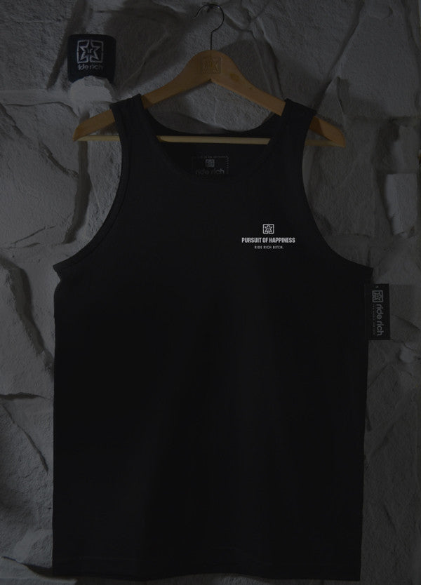 Pursuit of Happiness 3M Reflective Ink Tank View 2 - Motorcycle Tank Top