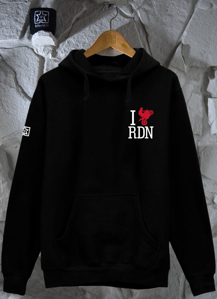 I Love Ridin Pullover Hoodie