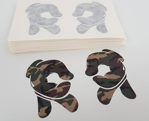 Rep Life On Two Vinyl Sticker {Camo}