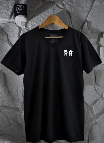 Rep Life Embroidered V-neck Tee