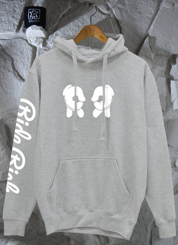 Rep Life On Two Pullover Hoodie {Heather Grey}