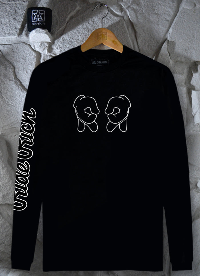 Rep Life On Two {Outline} L/S Tee