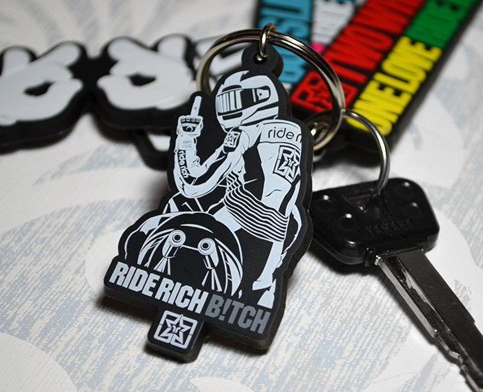 Slow No Roll Keychain View 1 - Motorcycle Accessories