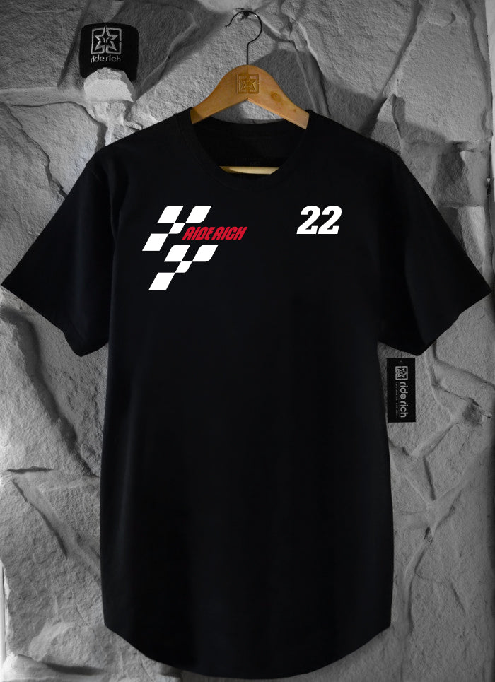 MotoRR Scoop Tee {Black}