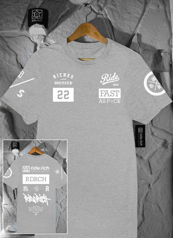 RR GP Tee {Heather Grey}