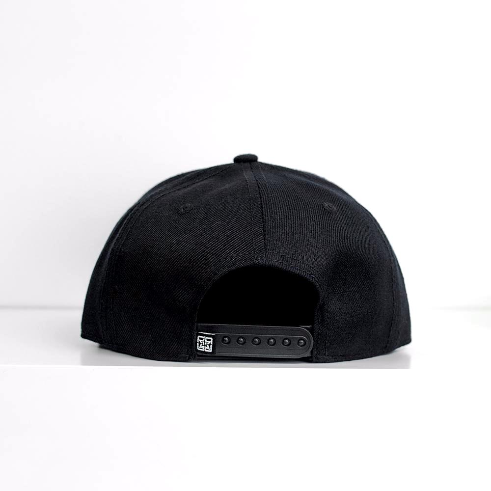RR Squad Snapback/Strapback {Gold on Black}