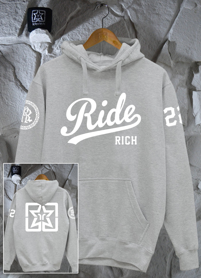 RR Squad Pullover Hoodie {Heather Grey}
