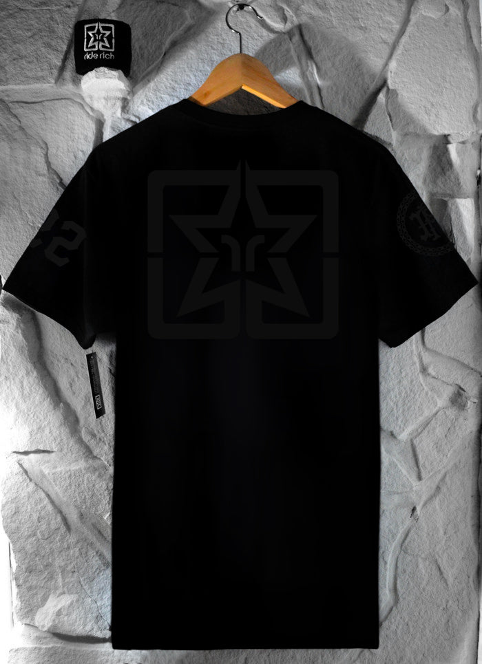 RR Squad Tee {Black on Black}