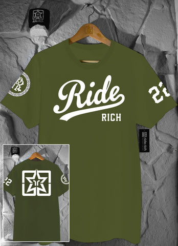 RR Squad Tee {Army Green}