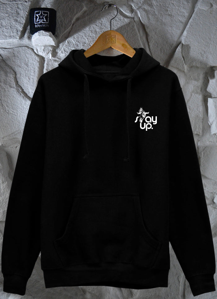 RR Stay Up Pullover Hoodie {Black}
