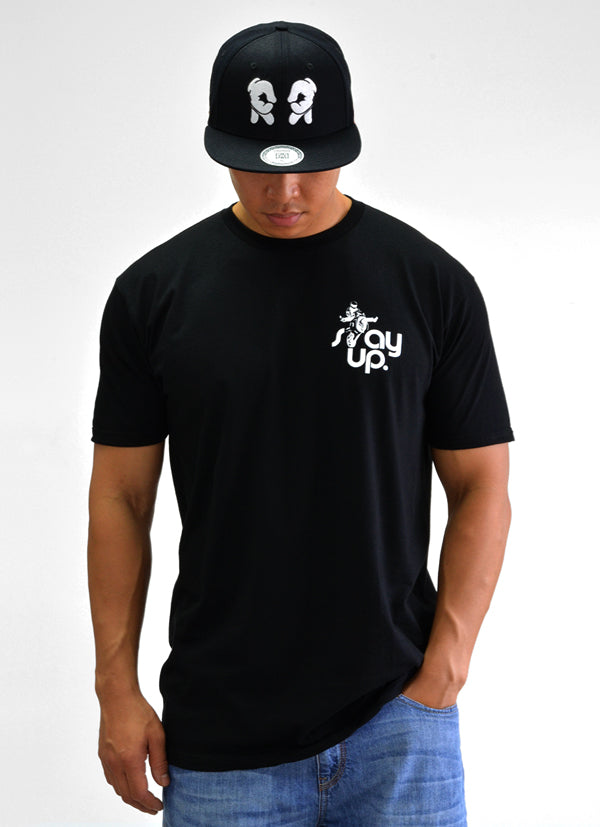 RR Stay Up Tee View 4 - Motorcycle T-shirt