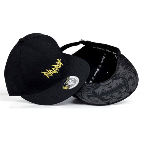 RR Tag Snapback/Strapback {Gold on Black}