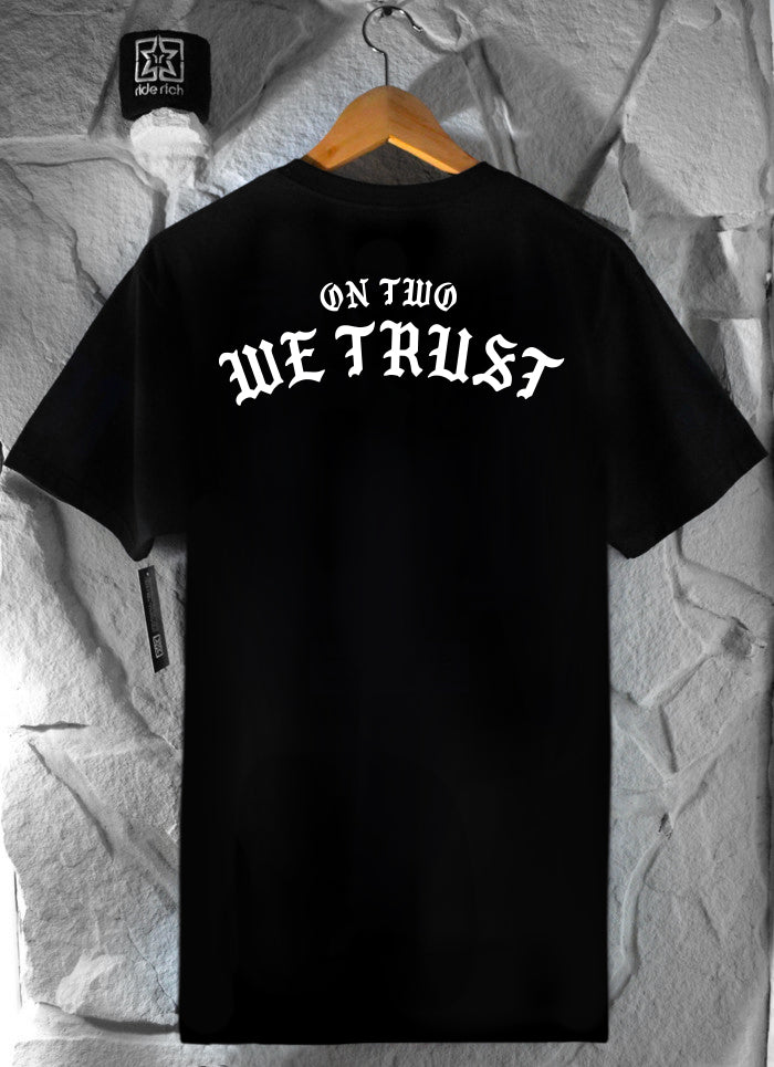 On Two We Trust Tee {Black}