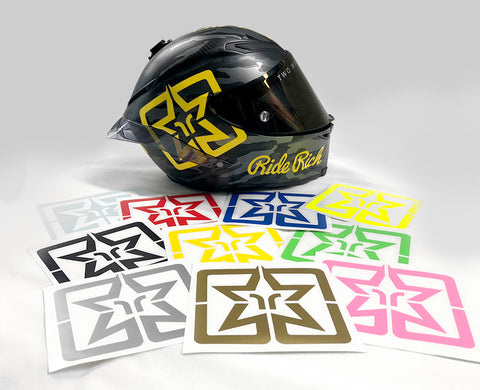 Ride Rich Emblem Vinyl Decal {XL}