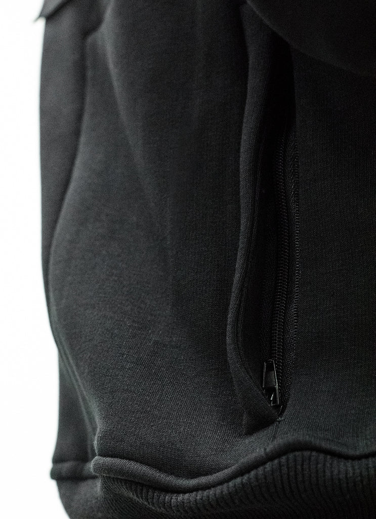 Women's Squad Patched Scuba Zip Hoodie {White}