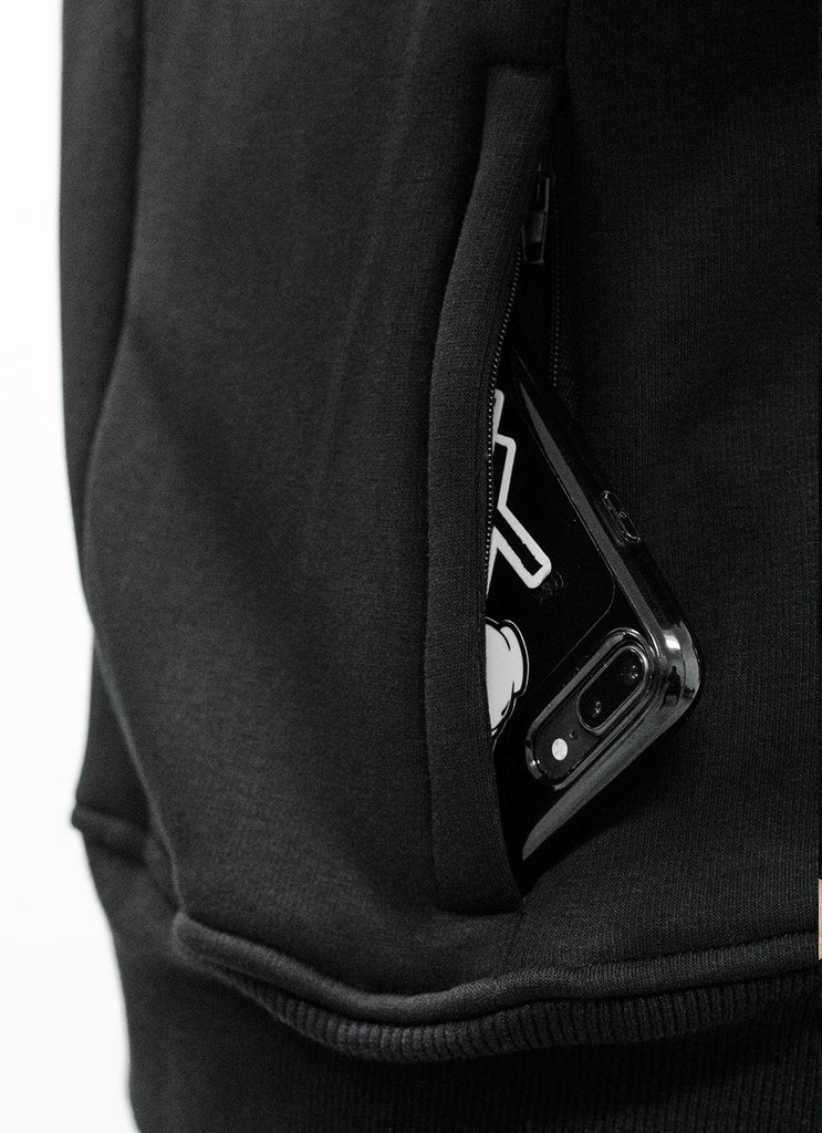 Trust No Other Patched Scuba Zip Hoodie