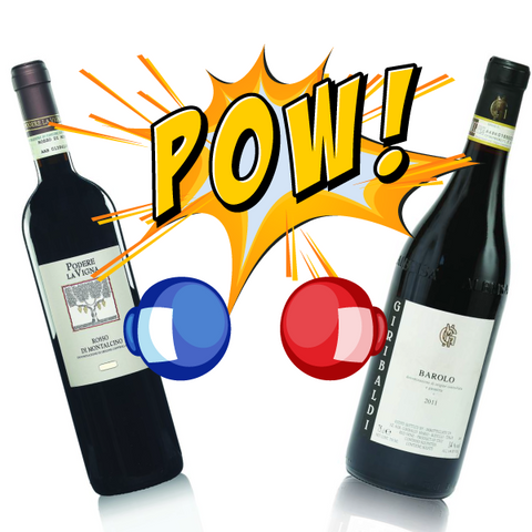 SANGIOVESE VS. NEBBIOLO A 6 BOTTLES FIGHT!
