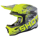 Casque Cross Shot Furious Counter 2019 Jaune Gris