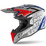 CASQUE CROSS AIROH WRAAP STREET GRIS BRILLANT