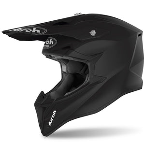 CASQUE CROSS AIROH WRAAP COLOR NOIR MAT