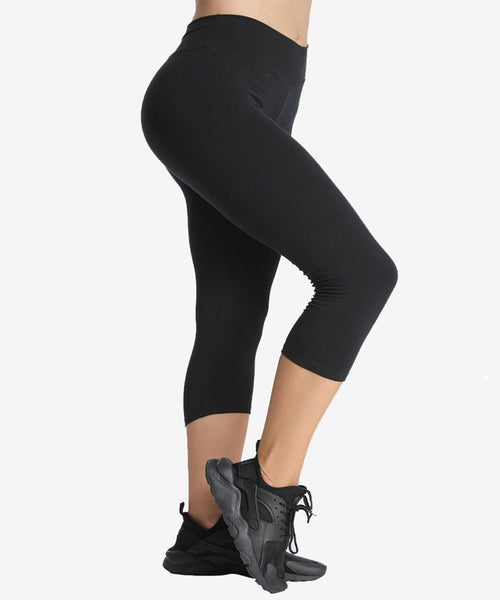 iLoveSIA Women 3/4 Yoga Pants Capri Leggings - iLoveSIA