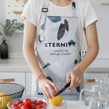 iLoveSIA Home Living Waterproof Lightweight Adjustable Cooking Apron - iLoveSIA