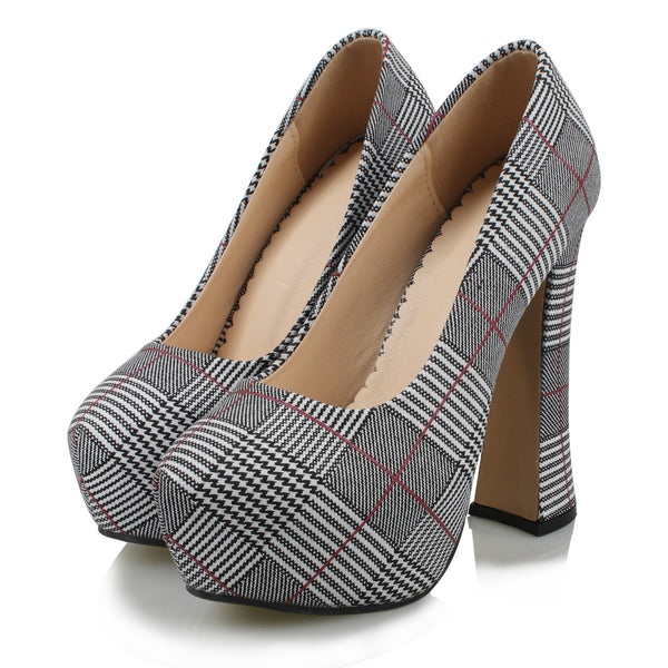 iLoveSIA Women Platform Pump Shoes
