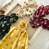 iLoveSIA Streamers Scrunchies Bow Ribbon Hair Ties for Women - iLoveSIA