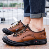 Men's Outdoor Shoes Daily Low-top Non-slip Casual Dad Shoes - iLoveSIA