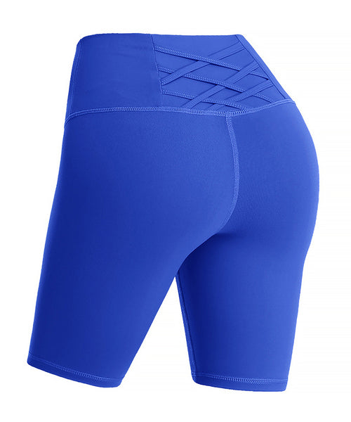 iLoveSIA Womens Yoga Short Pants Stretch Gym Pants Motion Pants - iLoveSIA