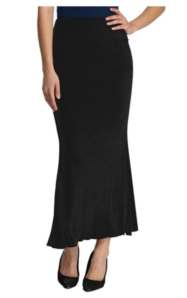 iLoveSIA Women's Styleish High Waist Long Maxi Fishtail skirt