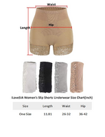 iLoveSIA High Waist Shaping Shorts for Women Slimming Tummy Control Thigh Slimmer Lace Butt Lifter Pants Underskirts Slip Shorts Underwear Body Shaper - iLoveSIA