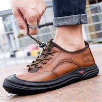 Men's Outdoor Shoes Daily Low-top Non-slip Casual Dad Shoes