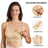 iLoveSIA 3PACK Support Low Impact Nursing and Maternity Sports Bra - iLoveSIA