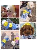 iLoveSIA cute Pet Plaid Clothes with Hat for Dog Cat Puppy Sweatshirt - iLoveSIA