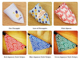 iLoveSIA Bandana Bibs Triangle Scarfs Dog Cats Pets Kerchief Pack of 6 - iLoveSIA