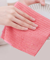 "iLoveSIA Extra-Thick Premium Microfiber Cleaning Cloth 4 Colors 11.8x11.8""(30*30cm)"