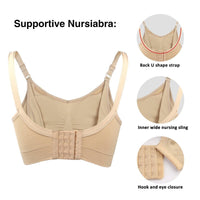 IloveSIA Womens Nursiabra Nursing Bra back details