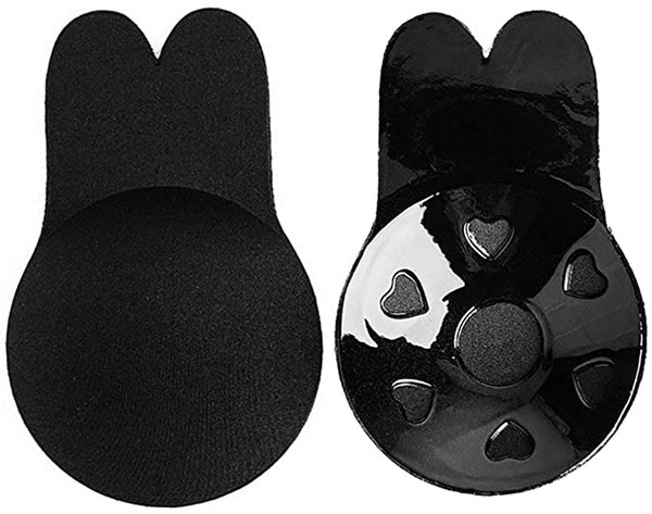 iLoveSIA Women Invisible Bra Lift Nipple Cover Rabbit Shape