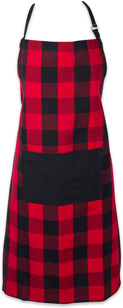 iLoveSIA Cotton Adjustable Buffalo Check Plaid Apron Kitchen Apron - iLoveSIA