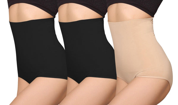iLoveSIA 3PACK Women High Waist C-Section Recovery Slimming Panties