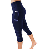 iLoveSIA Women's Fitness Cropped 3/4 Stretch Yoga Pants Gym Pants - iLoveSIA
