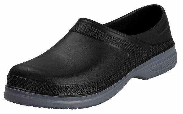 iLoveSIA Mens Waterproof Non Slip Work Clogs Oil Resistant Chef Shoes - iLoveSIA