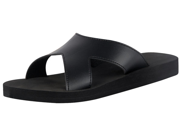 iLoveSIA Mens Beach Slide Sandals Casual Shower Cross Band Slides