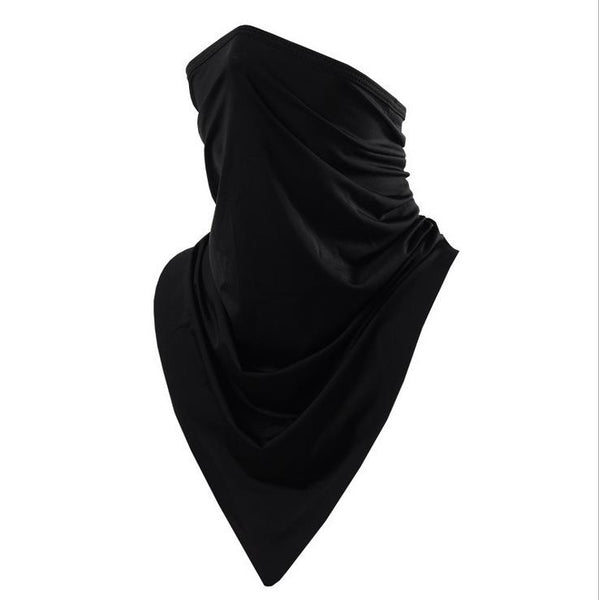Summer Ice Silk Sun Protection Triangle Scarf Men & Women Riding Seamless Mask Multi-Function Outdoor Sports Magic Headscarf - iLoveSIA