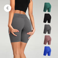 iLoveSIA Womens Yoga sexy ½ legging Running Gym Pants Motion Pants - iLoveSIA