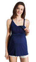 iLoveSIA Womens Maternity Breastfeeding Nursing Sleeveless Dress