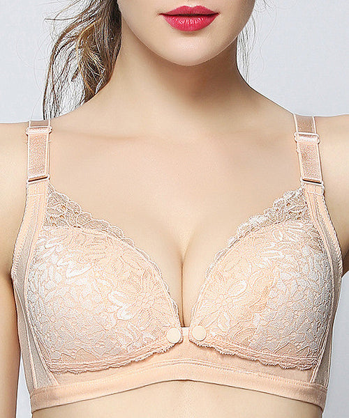 iLoveSIA Womens Lace Upper Nursing Bras NB7108